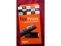 Amazon firestick with Alexa Voice control