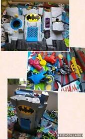 IMAGINEXT huge amount bundles figures see pics rare joker batman playsets