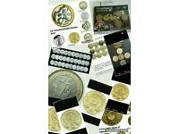 Wanted any of these coins and full sets of coins wanted