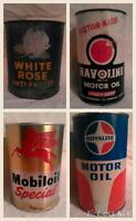 Vintage Gas and Oil Items - Garage/Man Cave Display!