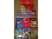 The Simpsons boxsets seasons 1-9 and guide book