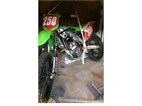 Kawasaki kxf 250 not cr yz rm ktm