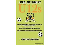 U12 football team based at S5 wanting players