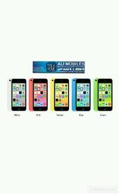 Brand New Orignal Apple iPhone 5C Uk Stock-32GB-Pink,Green,Yellow,Blue,White(Unlocked)With Warranty