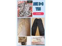 Age 6-8yrs clothes bundle just £1 Next etc