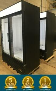 True GDM-49F Two Glass Door Commercial Freezer