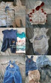 Boys newborn bundle