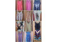 Job lot of women's summer clothes size 10 -14 (small 14)