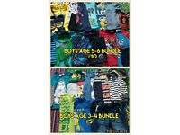 Boys Clothes bundle Age 5-6/3-4