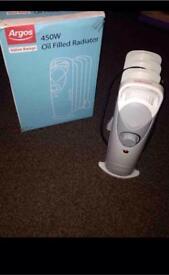 2 oil filled radiator heater