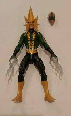 Hasbro Marvel Legends Electro from the BAF Venom Space Knight Wave Complete