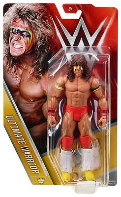 ULTIMATE WARRIOR WWE MATTEL BASIC SERIES 56 ACTION FIGURE TOY (BRAND NEW) - MINT