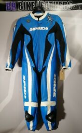Spidi Lizard Wind Pro Lady One Piece Motorcycle Leather Suit - EU 46 / UK 12-14 - BB Bike Leathers