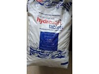 Water softener. Hydrosoft Water softening tablets 3 x 25kg bags for £15