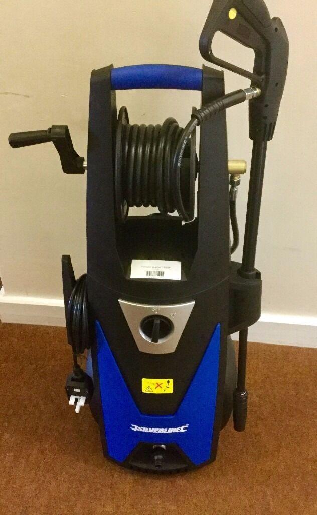 Silverline Power Pressure Washer 2300Psi / 165Bar