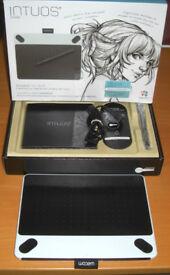 Wacom Intuos Draw Portable Graphics Art Drawing Tablet NEW
