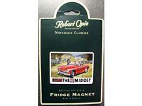 MG Midget Fridge Magnet Gift!