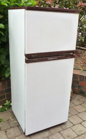 Free- Fridge Freezer Old but work great. Ideal for the garage etc, Good reason for parting