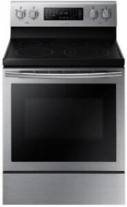 Samsung NE59J7630SS Electric Range 30 inch Self Clean Convection 5 Burners