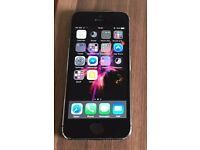 iPhone 5s silver, 32GB. Excellent condition.
