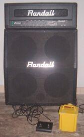 Randall XL Series Cyclone Guitar Amplifier Head + Randall cab 300 Watts