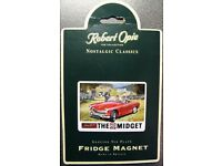 MG Midget Fridge Magnet