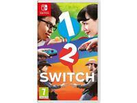 1 2 Switch - Nintendo Switch Game