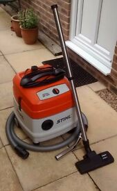 Stihl Model SE120 Wet and Dry Vacuum Cleaner
