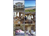 Caravan hire Primrose Valley Filey with uninterrupted sea views and near all amenities