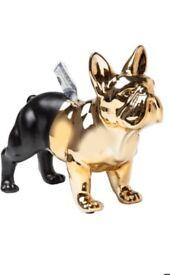 Bull dog money box