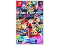 Nintendo Mario Kart 8 Deluxe for Nintendo Swift [Mint condition]