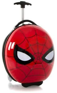 "Heys America Marvel Spiderman Boy's 16"" Rolling Carry On Luggage [Red]"