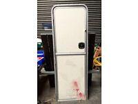 Caravan door and Doorframe