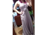 Lilac prom/bridesmaids dress size 10