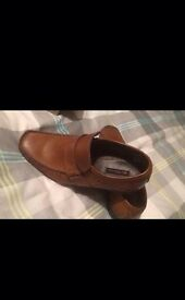 Boys Ben Sherman shoes size2 with box, good condition worn once