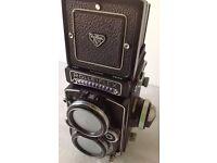 Vintage Rolleiflex 2.8F TLR Camera