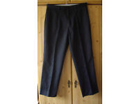 WM. SUGDEN & SONS - TOP FLIGHT MENS BLACK UNIFORM / WORK TROUSERS