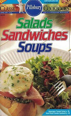 Pillsbury SALADS SANDWICHES SOUPS Small Cookbook #170 Lion Cub Cake 1995