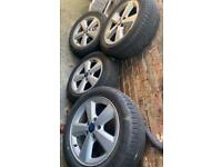Ford Focus Alloy wheels genuine Good Condition