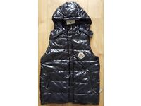 MONCLER Body warmer, Hugo Boss jacket