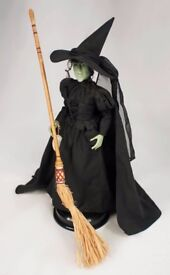 Wicked Witch of the West porcelain doll by Mattel (Wizard of Oz) RARE