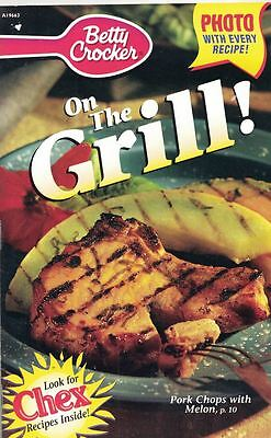 Betty Crocker On The Grill Small Cookbook Pork Chops W Melon Chex Recipes   More