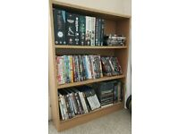 Small shelf unit - books and DVDs