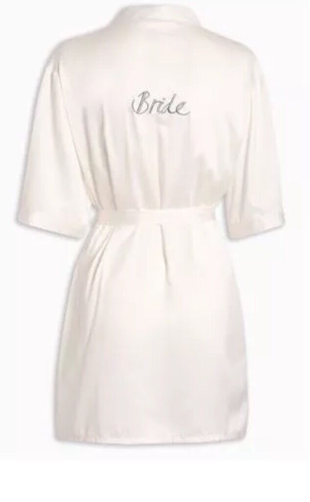 'Bride' Dressing Gown