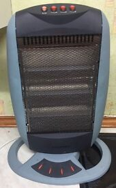 Hyundai Oscillating Halogen heater 1200W model NSB-L120B
