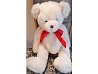 Large Soft Pile Teddy Bear Brand New