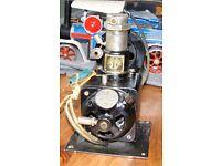 Vintage German Oxygen compressor