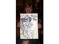 Caricaturist live caricature entertainment from Weddings lulls to Birthday and corporate events