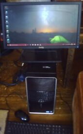 DELL INSPIRON 660 (intel core i5) with monitor/keyboard/mouse