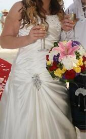 Rosetta Nicollini wedding dress Maizie size 14